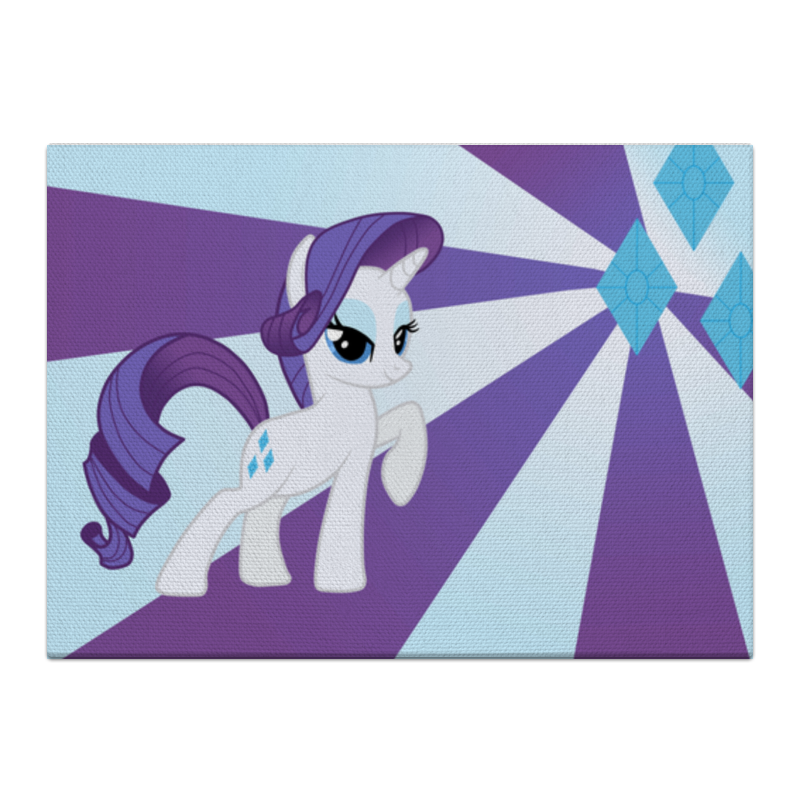 Холст 40x55 Printio Rarity color line чехол для ноутбука 14 printio rarity color line