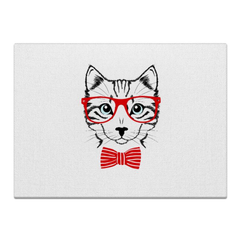 Холст 40x55 Printio Кошка андрей дашков домашнее животное