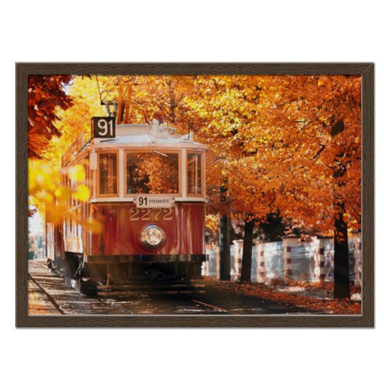 Холст 40x55 Printio Пражская осень