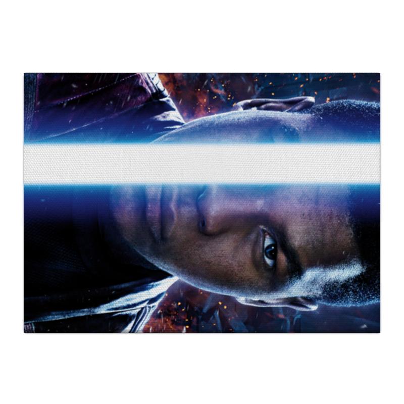 Холст 40x55 Printio Звездные войны - финн