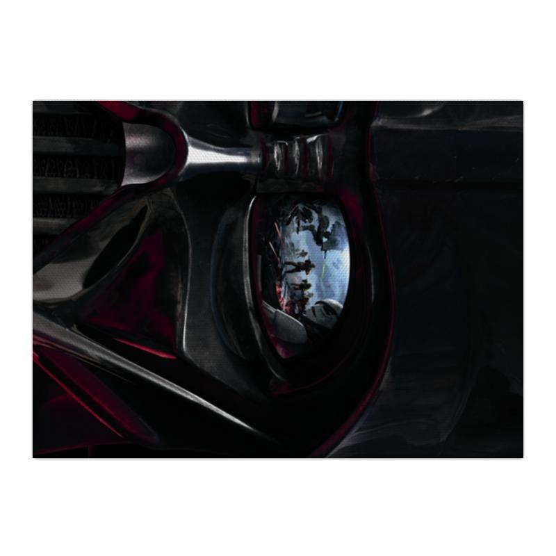 все цены на Холст 40x55 Printio Звездные войны онлайн