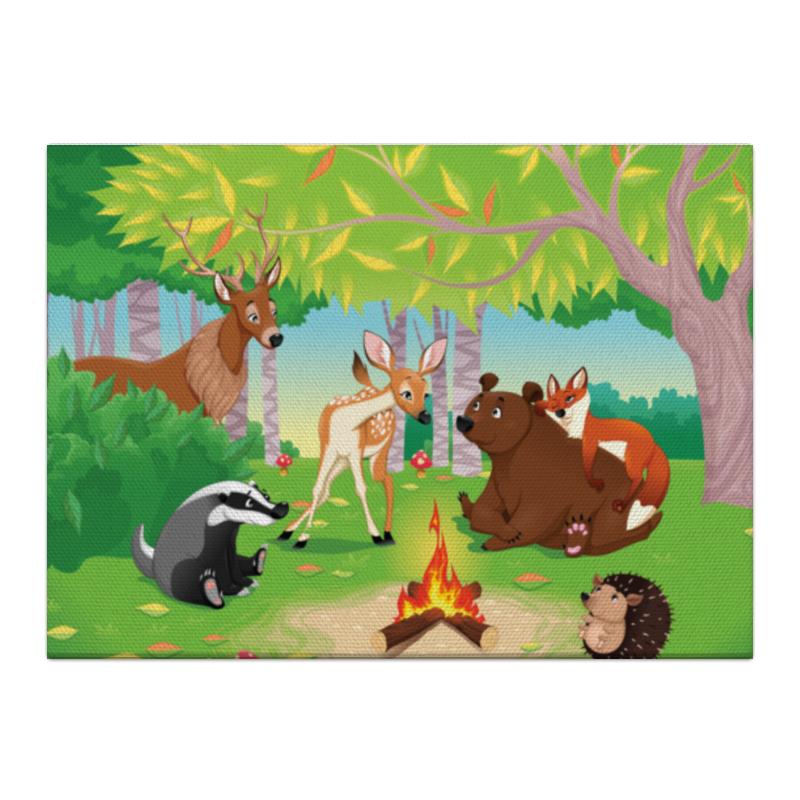Холст 40x55 Printio Забавные животные холст 40x55 printio лось в лесу