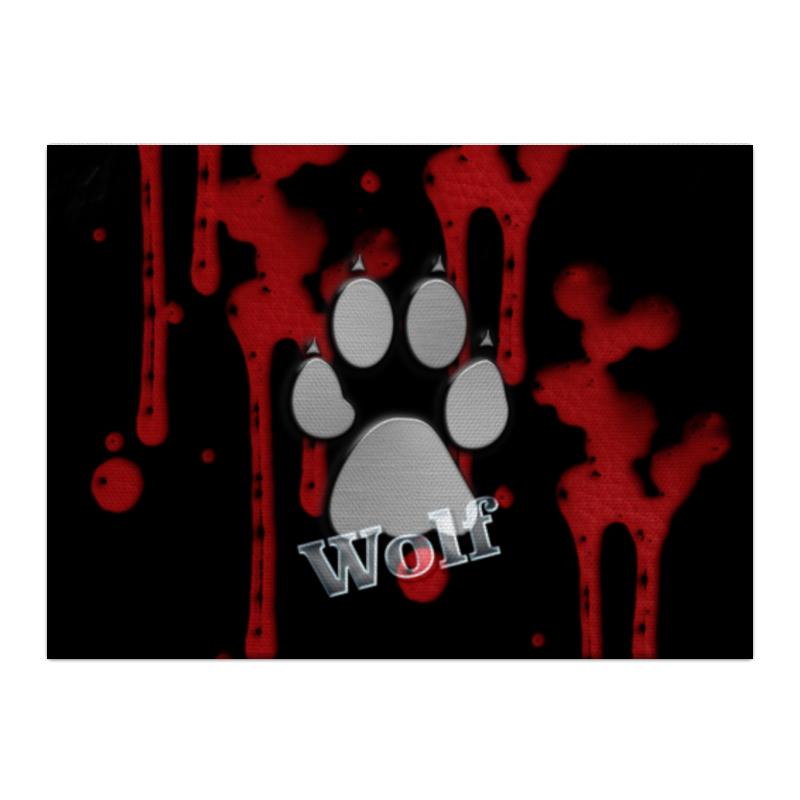 Холст 40x55 Printio Лапа волка холст 40x55 printio волк в лесу