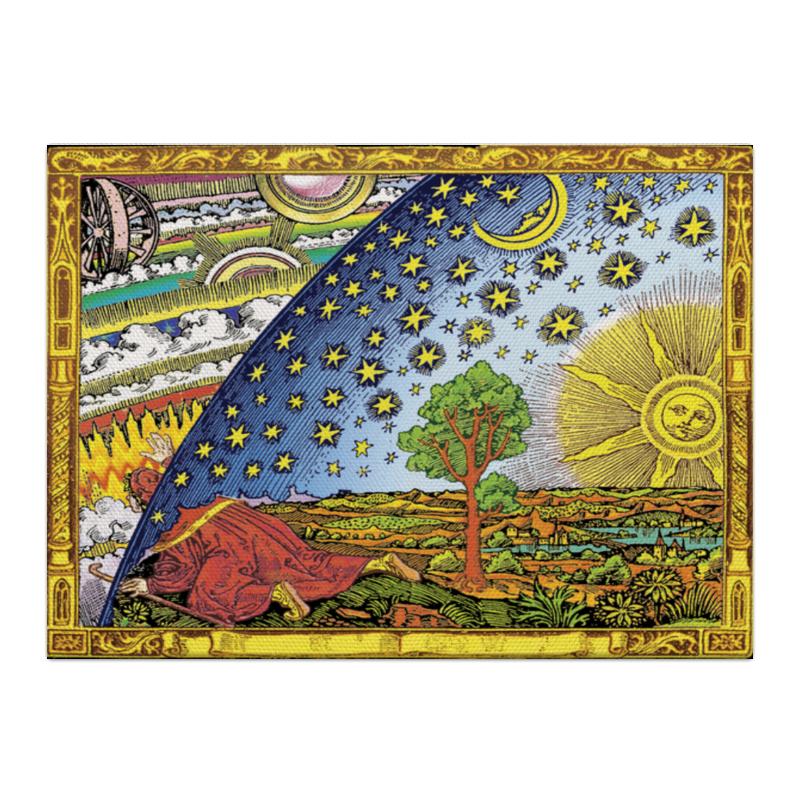 к в кольбе пейзаж гравюра германия начало xix века Холст 40x55 Printio Гравюра фламмариона в цвете
