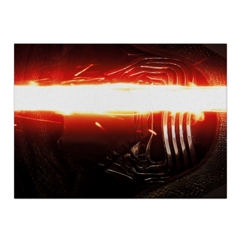 Холст 40x55 Printio Звездные войны - кайло рен чехол для ноутбука 14 printio кайло рен звездные войны