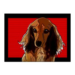 "Холст 40x55 ""Такса"" - животные, собаки, такса"