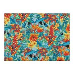 "Холст 40x55 ""Лилии"" - красиво, цветы, ярко, природа, лилии"