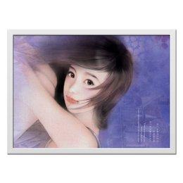 "Холст 40x55 ""Я никогда не забуду"" - арт, japan, нежность"