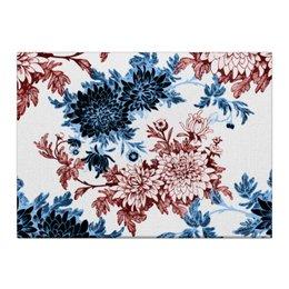 """Холст 40x55 """"Хризантемы"""" - красиво, цветы, хризантемы"""