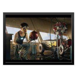 "Холст 40x55 ""Ironman / Железный человек"" - comics, комиксы, мстители, avengers, ironman"