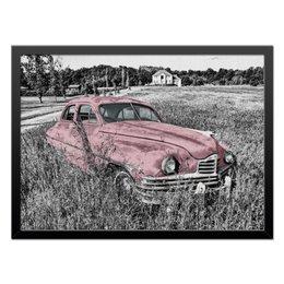 "Холст 40x55 ""Раритет 1"" - машина, автомобиль, пейзаж, car, раритет"