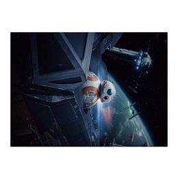 "Холст 40x55 ""Star Wars"" - star wars, звездные воины, джедай, фантастика, империя"