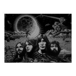 "Холст 40x55 ""Pink Floyd"" - пинк флойд, pink floyd, постер pink floyd"