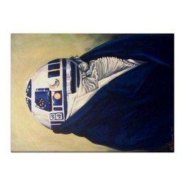 """Холст 40x55 """"Портрет R2D2"""" - фильм, star wars, искусство, живопись, звездные войны"""