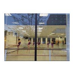 """Холст 40x55 """"Балетная школа"""" - танец, классика, балет"""