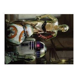 "Холст 40x55 ""Star Wars"" - кино, фантастика, star wars, звездные войны, дарт вейдер"
