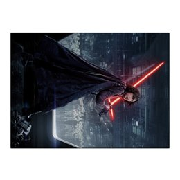 "Холст 40x55 ""Звездные войны - Кайло Рен"" - звездные войны, фантастика, дарт вейдер, кино, star wars"