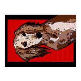 "Холст 40x55 ""Салюки"" - собака, животное, борзая, салюки, персидская борзая"