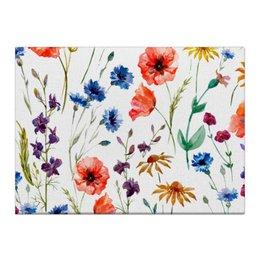 """Холст 40x55 """"Полевые цветы"""" - красиво, цветы, природа, полевые цветы"""