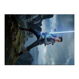 "Холст 40x55 ""Звездные войны - Рей"" - звездные войны, фантастика, кино, дарт вейдер, star wars"