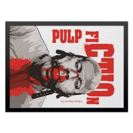 "Холст 40x55 ""Pulp Fiction (Брюс Уиллис)"" - pulp fiction, кино, брюс уиллис, тарантино, криминальное чтиво"