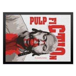 """Холст 40x55 """"Pulp Fiction (Брюс Уиллис)"""" - кино, тарантино, криминальное чтиво, pulp fiction, брюс уиллис"""