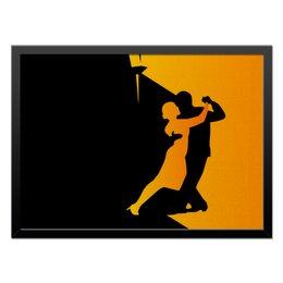 """Холст 40x55 """"Танго в ночи"""" - музыка, танец, ночь, танго"""