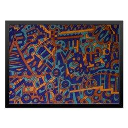 "Холст 40x55 ""y7t6ggjlla11zzz"" - арт, узор, абстракция, фигуры, текстура"
