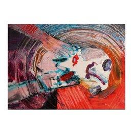 """Холст 40x55 """"Портрет """" - девушка, женщина, грусть, woman, emotions, рыжая, эмоции"""