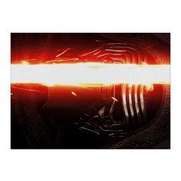 "Холст 40x55 ""Звездные войны - Кайло Рен"" - звездные войны, кино, фантастика, дарт вейдер, star wars"