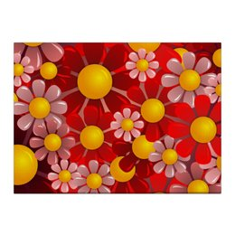 "Холст 40x55 ""Ромашки"" - красиво, цветы, ярко, природа, ромашки"
