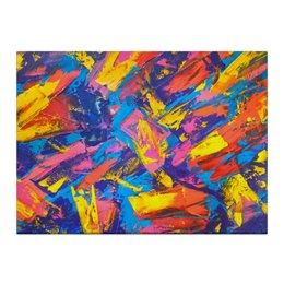 """Холст 40x55 """"«Рио»"""" - ханин, абстракция, максим, живопись, цвет"""