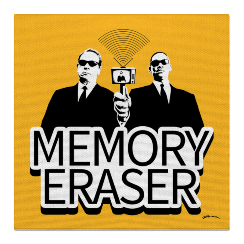 Холст 50x50 Printio Memory eraser холст 50x50 printio семейная лодка