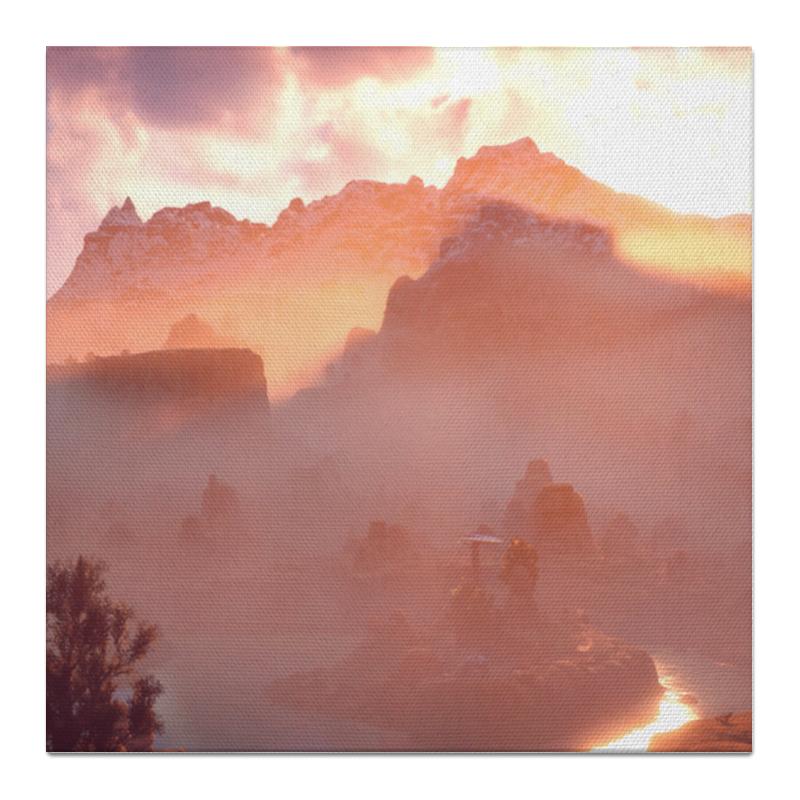 Холст 50x50 Printio Horizon zero dawn