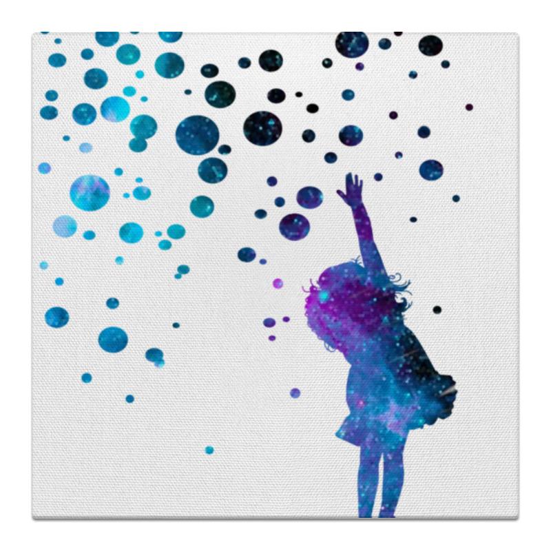 Холст 50x50 Printio Дотянуться до звезд дубини мириам танец падающих звезд