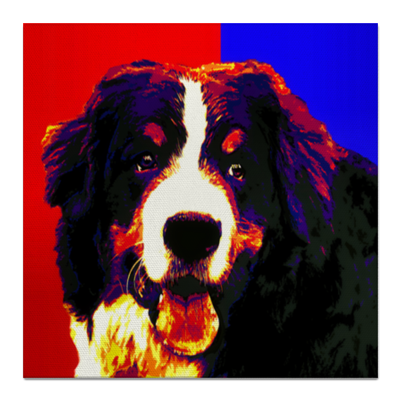 Холст 50x50 Printio Бернская пастушья собака холст 50x50 printio ttt 12ll