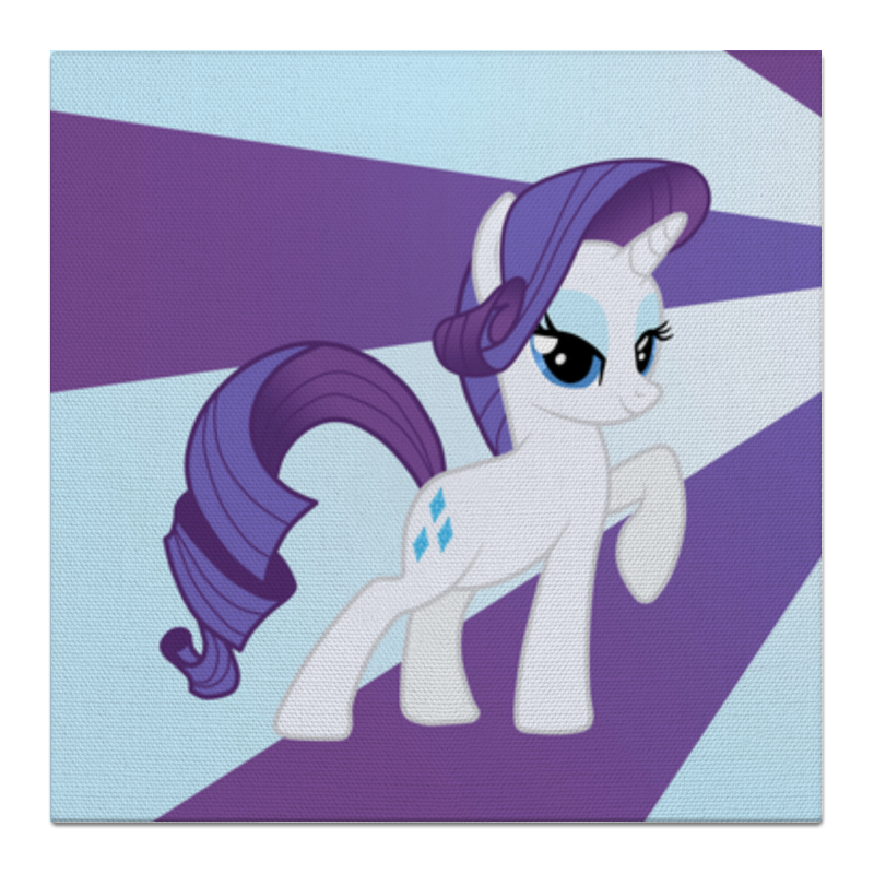Холст 50x50 Printio Rarity color line чехол для ноутбука 14 printio rarity color line