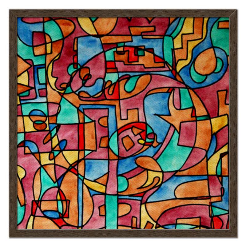 Холст 50x50 Printio Sash,ee11 цена