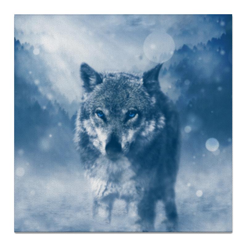 Холст 50x50 Printio Волк с голубыми глазами холст 20х30 printio волк с голубыми глазами