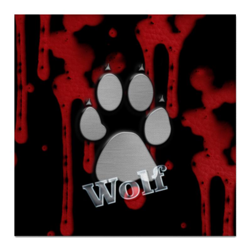 Холст 50x50 Printio Лапа волка цена