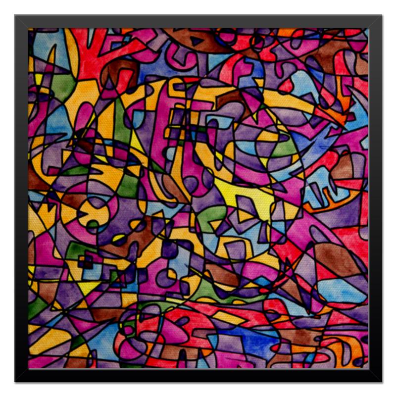 Холст 50x50 Printio Rrg`90`90=-= 90