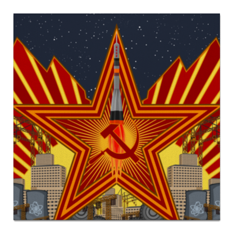 Холст 50x50 Printio Советский союз холст 50x50 printio ttt 12ll