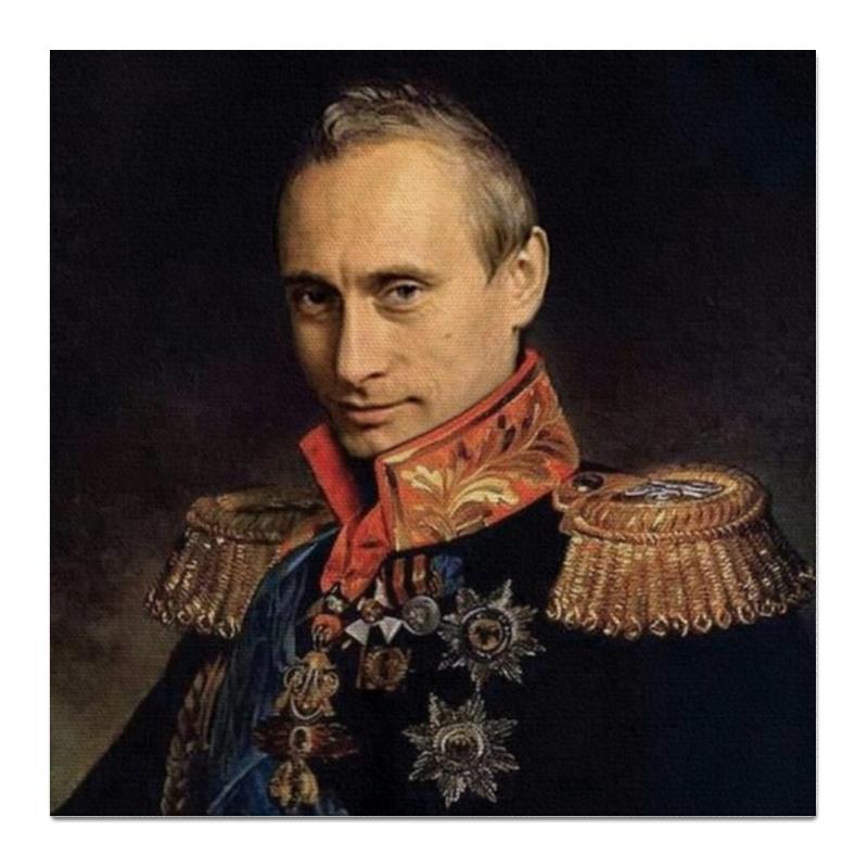 Холст 50x50 Printio Putin мария фомальгаут бесхозные лондоны