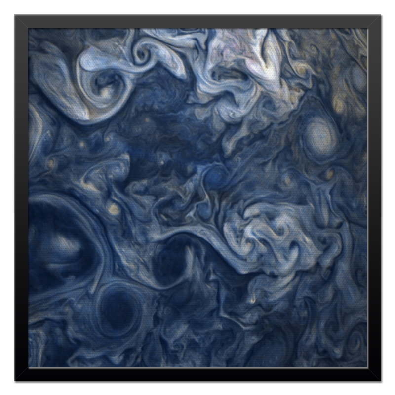 Холст 50x50 Printio Jupiter clouds ремешок на камеру clouds
