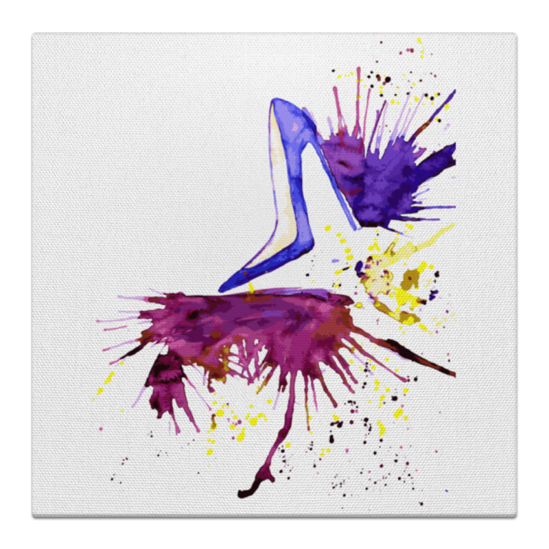 Фото Холст 50x50 Printio Art shoes persian art