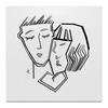 """Холст 50x50 """"Любовь"""" - деньвсехвлюбленных"""
