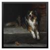 """Холст 50x50 """"Колли (картина Артура Вардля)"""" - картина, собака, колли, живопись, артур вардль"""