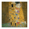 "Холст 50x50 ""Поцелуй"" - поцелуй, густав климт, модерн, gustav klimt, the kiss"