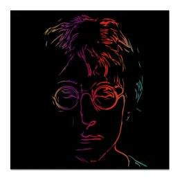 """Холст 50x50 """"Джон Леннон"""" - портрет, музыкант, знаменитость, джон леннон"""