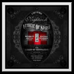 "Холст 50x50 ""Nightwish - «Vehicle Of Spirit» (album poster)"" - nightwish"